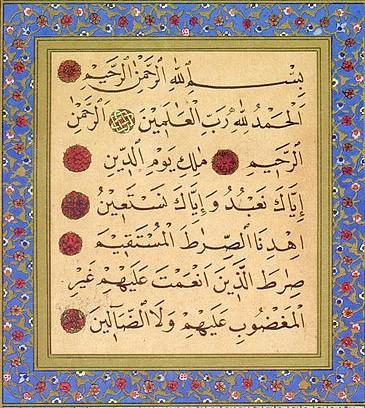 Kaya dengan Al-fatihah